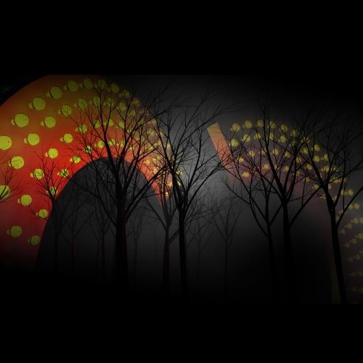 At Night 2 photoprint 2007
